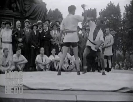 1924 Jiu-Jitsu – Knife Defence – Demonstration Lustgarten Berlin