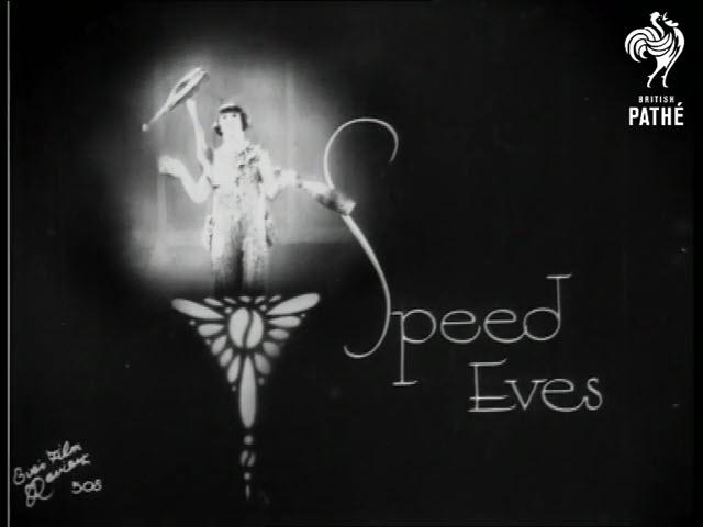 1931 Speed Eves