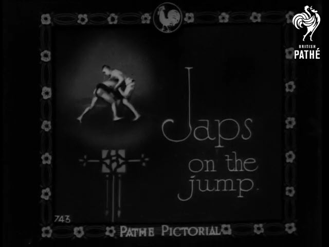 1932 Japs On The Jump