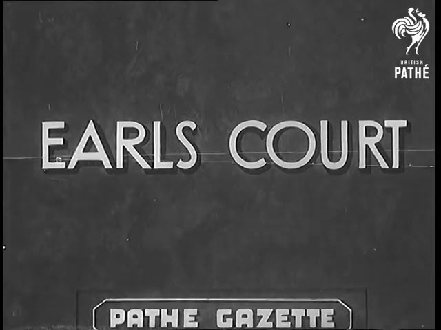 1938 Wrestler vs Boxer – Earls Court