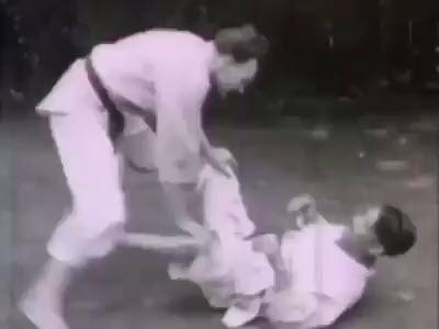 1949 Rare Jiu-Jitsu footage