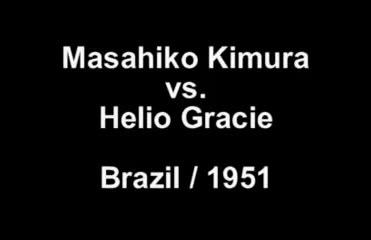 1951 Kimura vs Gracie