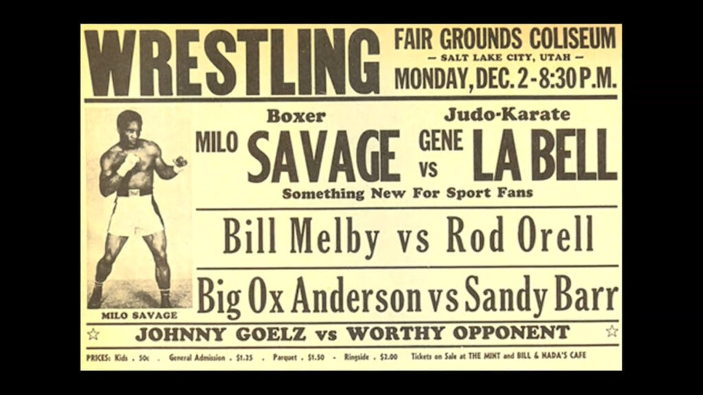 1963 Gene Lebell vs Milo Savage